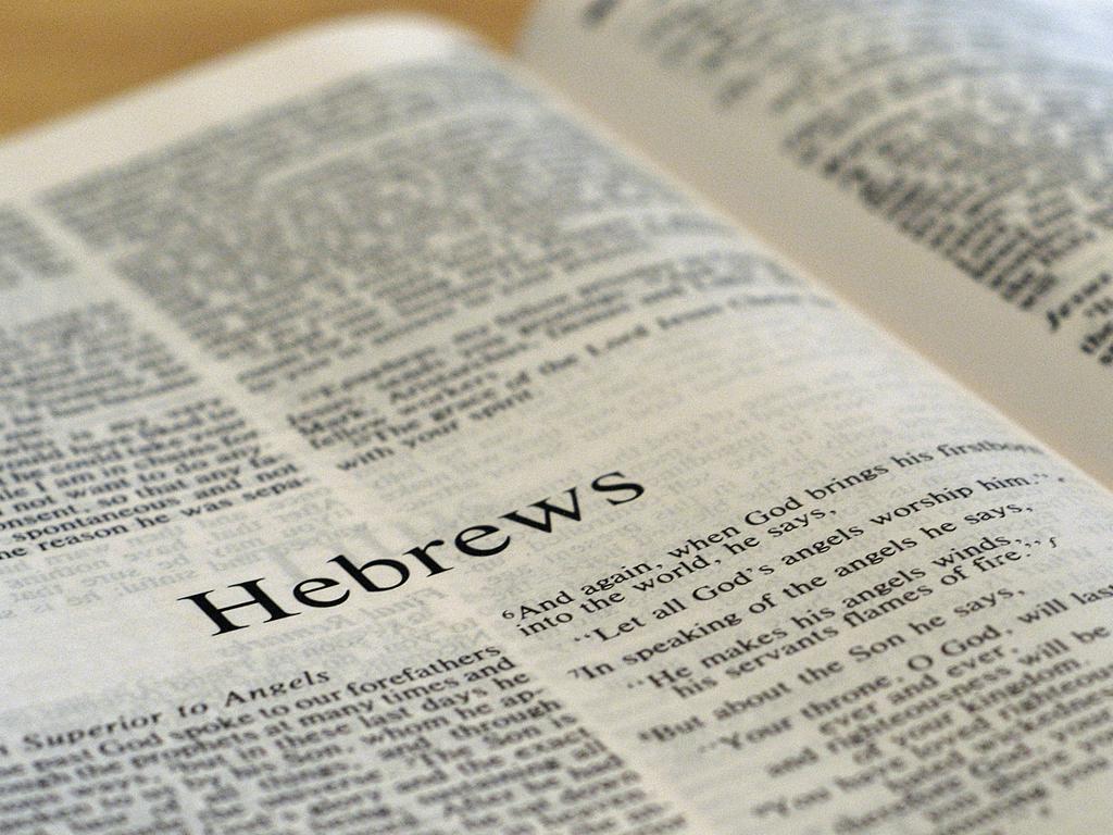 Image result for speaking hebrew bible